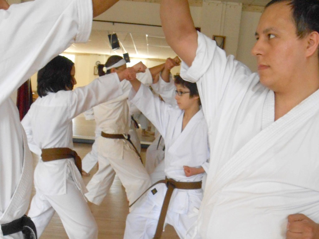 Shotokan Karate Dojo Minneapolis Rising Block